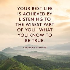 Quote About Truth - Cheryl Richardson Truth Quotes, Quotable Quotes, Words Quotes, Wise Words, Me Quotes, Sayings, Uplifting Words, Powerful Words, Intj