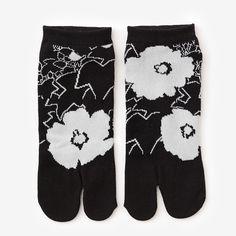 Tabi Socks Hibiscus (Ankle) : SOU • SOU US Online Store