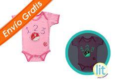 Baby Body Cherry #pijamas #bebes #niños #lit #babies #kids #night #clothes #brillan #noche #sleepwear #enviogratis