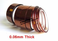 27.99$  Watch here - http://ali98z.shopchina.info/go.php?t=32752429587 - 0.06mm thick 130mm wide 33M Length, Heat Withstand Polyimide Film tape fit for SMT, Golden Point Protect 27.99$ #buyonline