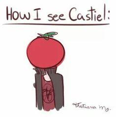 """""""Como eu vejo o Castiel"""""""