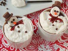 Melting Hot Chocolate Snowmen
