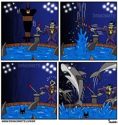 He's Batman [Comic] Humor Batman, Superhero Humor, Batman Vs Superman, Funny Batman, Heros Comics, Bd Comics, Marvel Dc Comics, Funny Cartoons, Funny Comics