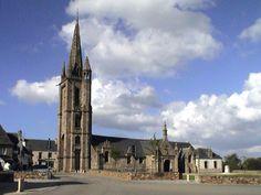 Clocher d'une église de France : 29188 - Plougasnou