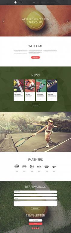 Are you an active person and enjoy playing tennis? And every time you sit at your laptop to fix something, it feels like you're losing your energy. However, you want to design a site about sports b...