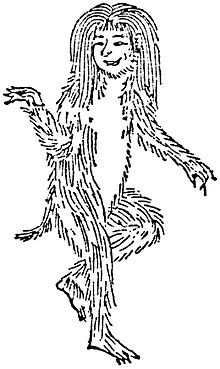 Shōjō - These monsters from Japanese folklore resemble orangutans, and will live in places where there is lots of alcohol. Only those who are drunk can percieve the beasts, and the monsters can only be killed using a sword that has recieved a Shinto blessing.