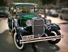 Ford A. 1930. Maintenance/restoration of old/vintage vehicles: the material for new cogs/casters/gears/pads could be cast polyamide which I (Cast polyamide) can produce. My contact: tatjana.alic@windowslive.com