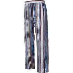 Pantalón estampado con cintura elástica Referencia  B1508 Marca:  WorkTeam  Pantalón estampado con cintura elástica y dos bolsillos laterales. Acabado antimanchas.None