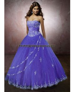 2010 Summer quinceanera dress,Strapless Quinceanera gowns 86032-11,discount designer quinceanera ball gowns,Embroidery and beading decorates the strapless bodice with asymetrical, satin drape at the empire and corset tie back. The circular tulle skirt features two draped overskirts edged with embroidery that also trims the hemline.br / br / br /