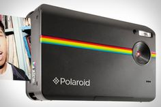 "Polaroid Z2300 Instant Digital Camera: With a 10 megapixel sensor, 3"" LCD, SD storage and a built in ZINK printer with on board editing tools to give both a digital file and a 2 x 3, smudge-proof, water resistant print with a sticky back!. via uncrate.com #Camera #Polaroid #Digital #uncrate"