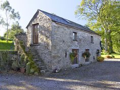 Detached Barn Conversion for 2 - Ashbourne Barn Renovation, Cottage Renovation, House Renovations, Kitchen Renovations, House Remodeling, Cottage Shutters, Cottage Exterior, Stone Cottages, Stone Houses