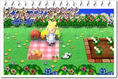 Picnic Blanket - Animal Crossing New Leaf QR Codes