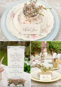 tea party wedding ideas lace and vintage