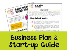 How to set up a business plan templates