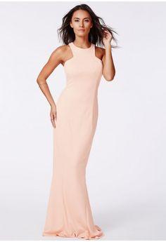 Kaisa High Neck Maxi Dress - Dresses - Maxi Dresses - Missguided