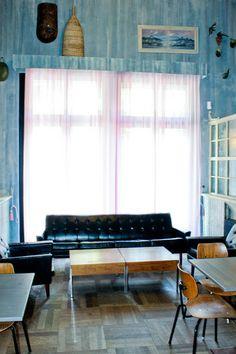 vintage interior at Restaurant ø Berlin