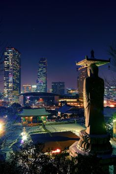 Downtown Seoul by Yoonki Jeong
