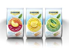 Everton Instant Tea Line on Packaging of the World - Creative Package Design Gallery