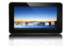 """Envizen Digital 4 GB Tablet - 7"""" - 1.50 GHz - 1 GB RAM - Android 4.1 Jelly Bean - Slate - 1024 x 600 Multi-touch Screen Display Thin, Light and Powerful! The Envizen / Emdoor EM63, 7 Inch Dual-Core Andriod 4.1 will amaze you with its lightening speed. Download over 500,000 apps from Google Play, Multi-task while viewing multiple web sites. Custom make your Home screen with your favorite applications and backgrounds. Connect  the Envizen tablet to your TV with any HD/"""