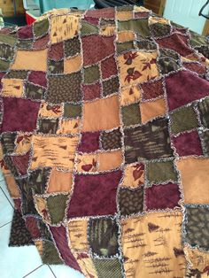 Design Ideas needed for rag quilt