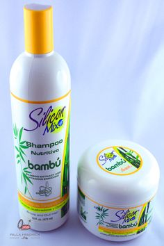 Silicon Mix Bambu shampoo and conditioner.  I absolutely love these for my blow outs and silk presses.  My hair is soft and shiny...and smells like H E A V E N!!!