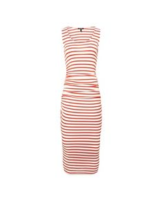 Hanna Striped Tank Dress by Isabella Oliver