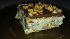 W świecie moich pasji: Ciasto inspirowane batonikiem Kinder Country. Bez pieczenia.