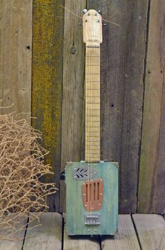 Cigar Box Guitar  4 String by DSCigarBoxGuitars on Etsy