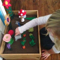 DIY Felt Toy Garden