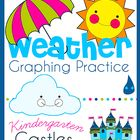 Use this common core state standard aligned weather graphing practice freebie to help kindergarteners learn how to interpret data. This includes th...