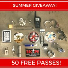 ANNOUNCING OUR SUMMER GIVEAWAY!  With the first day of summer right around the corner we want to celebrate! We're giving away 50 free passes on June 26th to play any of our three experiences (C-Block The Inheritance Vaccine). That's right...50 free passes. Here's the plan and how you can enter to win one of the 50 passes between now and June 26th when the 50 winners will be announced: 1. Like this post for one entry... 2. Like the Escape Experience - Nashville Facebook Page for one entry…