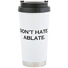ABLATE YO - Stainless Steel Travel Mug, Nurse Gift Insulated 16 oz. Coffee Tumbler