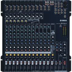 MIXER AUDIO YAMAHA MG 166CX