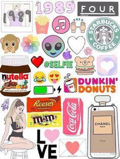 Pin by layah monae on cute wallpaper Tumblr Wallpaper, Tumblr Backgrounds, Emoji Wallpaper, Cute Backgrounds, Cool Wallpaper, Cute Wallpapers, Printable Stickers, Cute Stickers, Planner Stickers