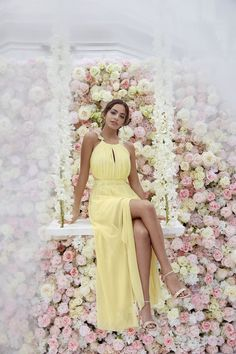 Lipsy unveils hotly anticipated Bridal Collection | Lipsy yellow bridesmaid dress | weddingsite.co.uk
