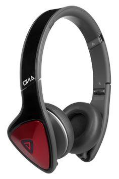 Monster DNA On-Ear Headphones (Black / Red)