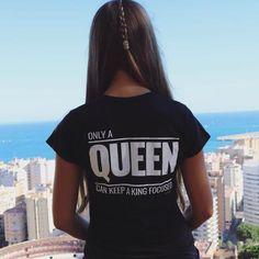 Queen Shirt Black