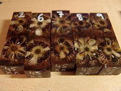 экзотическая стабилизированная древесина