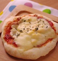 ホットケーキミックスでつくる、朝ごはんピザ(シーチキンとスイートコーン)☆朝食に簡単レシピ