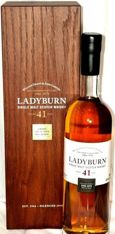 The Whisky Shop - Ladyburn 41 Year Old, $1,950.00 (http://www.whiskyshopusa.com/ladyburn-41-year-old/)