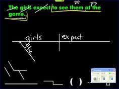 Sentence diagram gerund phrase grammar stuff pinterest sentence diagram infinitive phrase as direct object ccuart Images