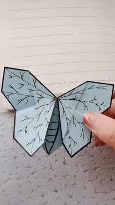 Diy Crafts Hacks, Diy Crafts For Gifts, Diy Home Crafts, Creative Crafts, Diys, Arts And Crafts, Cool Paper Crafts, Paper Crafts Origami, Diy Paper