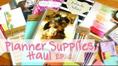 I stumbled across this video on YouTube and loved it.  I do have an Erin Condren planner but I won't buy another one because I can't justify the postage to Australia and unfortunately it makes it too expensive.  I also found I didn't use everything so my next project might be to custom make a planner for myself.