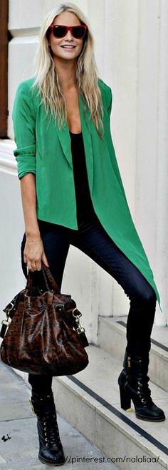 Street style - Poppy Delevingne - Alexa de Mulberry bag <3 na