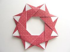 Origami-Instructions.com: Origami Modular Star Wreath