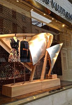 VM inspiration: Frank Gehry's displays for Louis Vuitton - Retail Design World