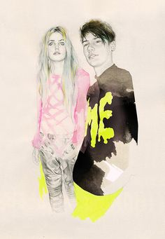 by nataliasanabria - and is that andrej pejic i see? <3