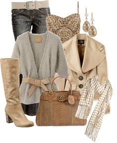 """""""Neutrals All The Way"""" by stylesbyjoey on Polyvore"""