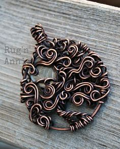 Dime moon in a copper tree.  A special request.