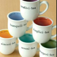 How cute! I'd love to paint some tea mugs like this.... great idea for a pottery Girls night out